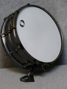 "Ludwig LW5514 5""x14"" Black Magic snare drum."