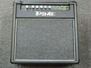 "Dime Blacktooth solid state amp with 10"" Eminence speaker $85.00"